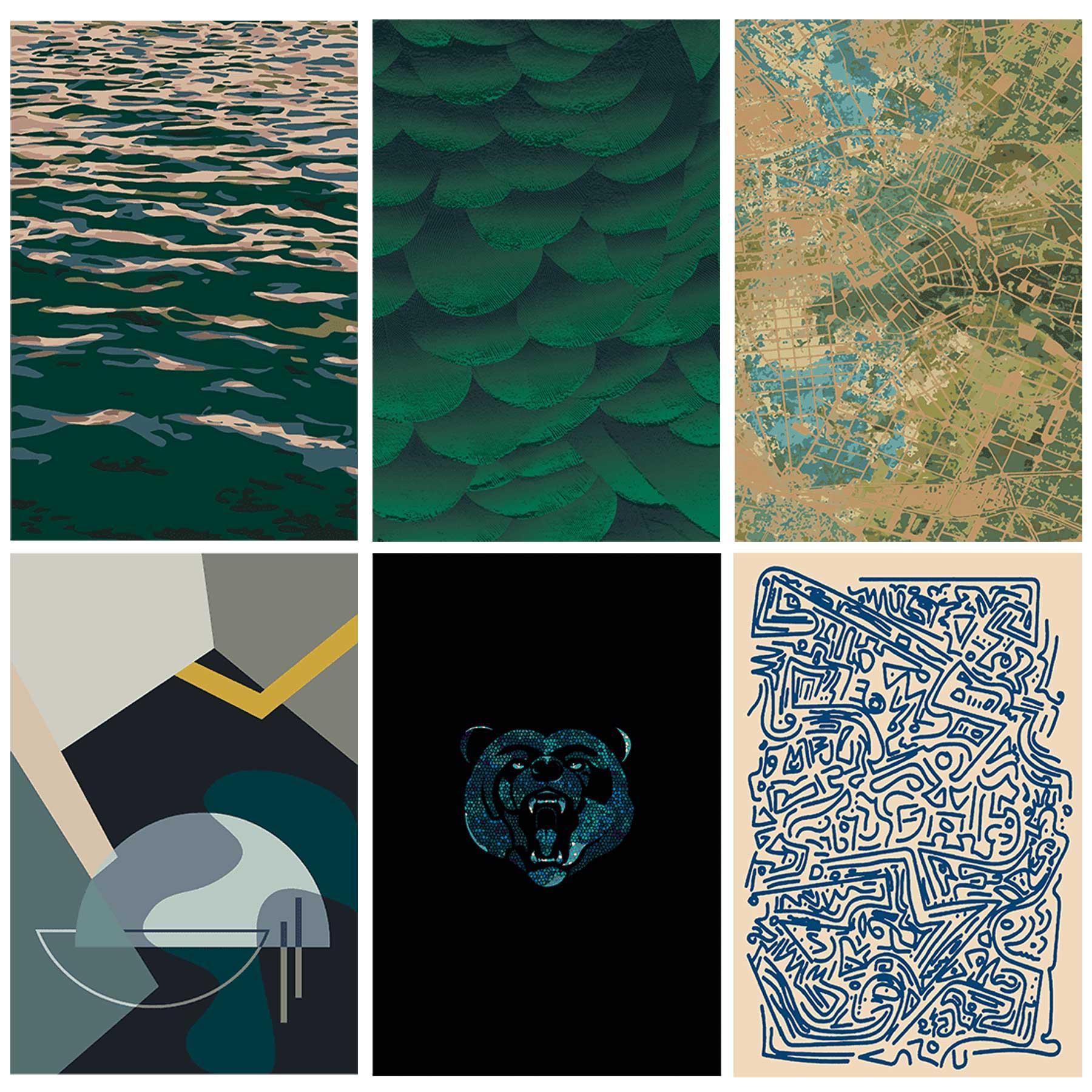 Maler Buban - Boden und Teppiche – URBAN JUNGLE / JAB
