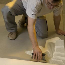 Maler Buban - Boden und Teppiche