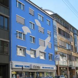 Fassade als Werbefläche / Fassadenbemalung