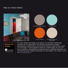 Echte Pigmentfarben von kt-COLOR - Maler Buban