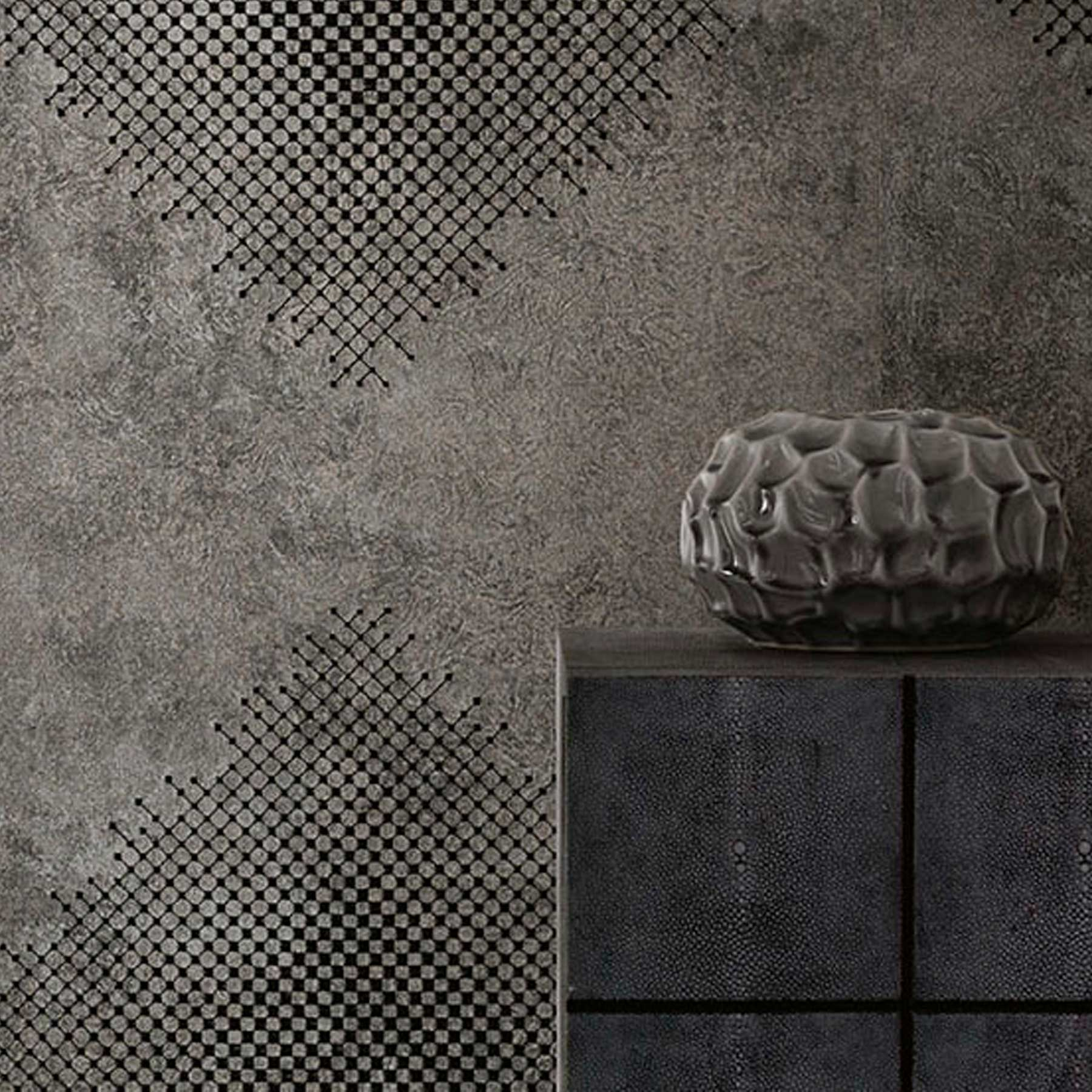 Maler Buban – Tapete ROMBE / JAB