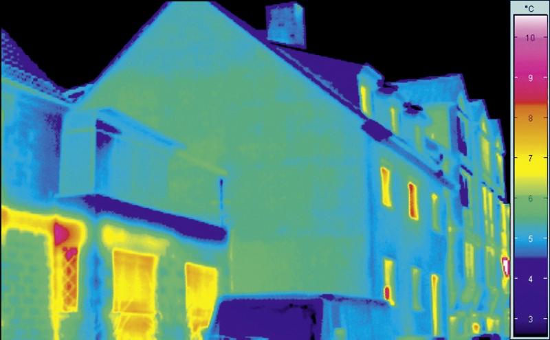 Wärmedämmung Thermografie gedaemmt - Maler Buban
